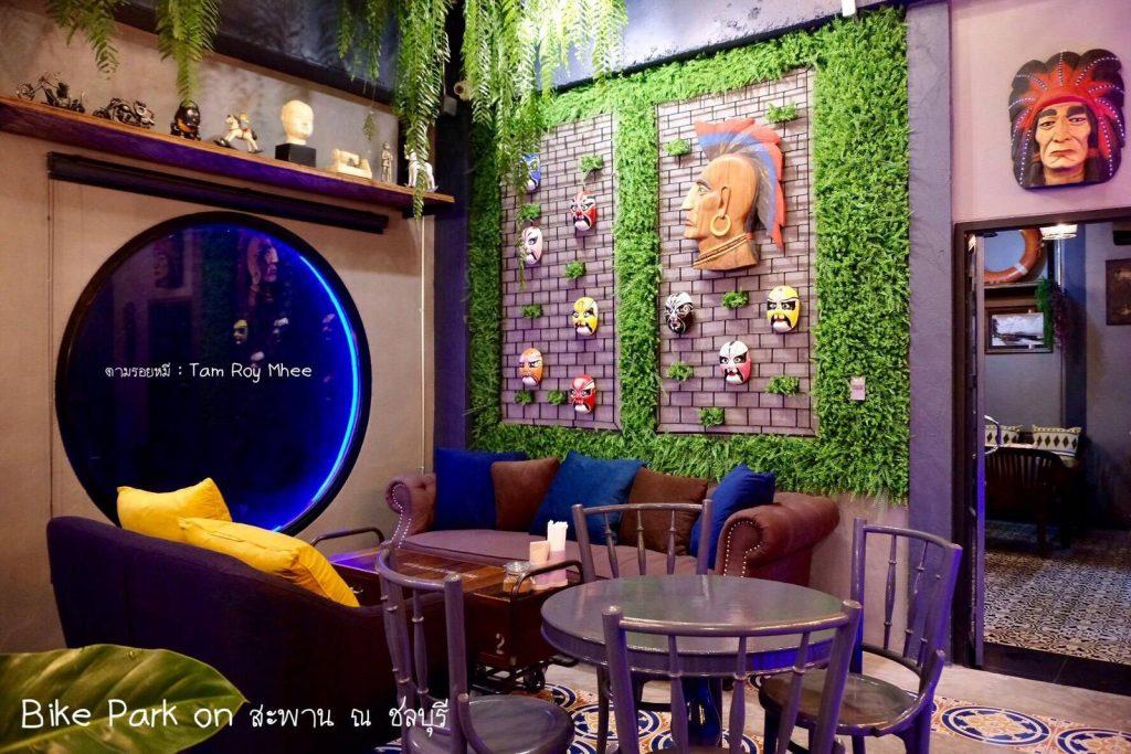 ร้านกาแฟชลบุรี Cafe on สะพาน