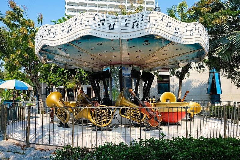 สวนสนุก Pattaya Park ดนตรี