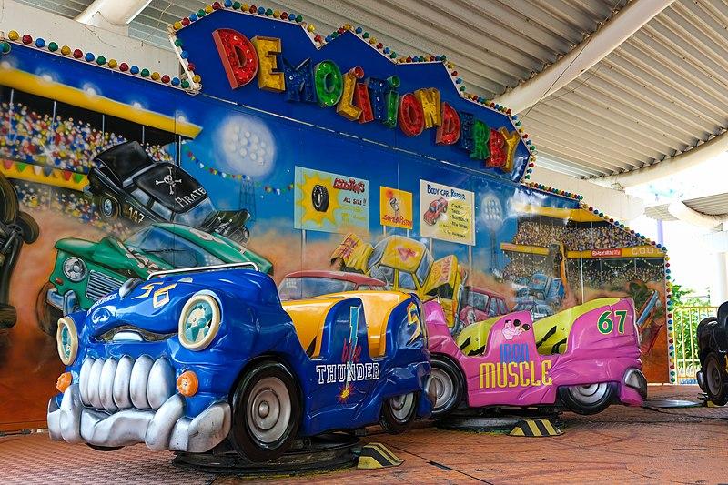สวนสนุก Pattaya Park เครื่องเล่นสำหรับเด็ก