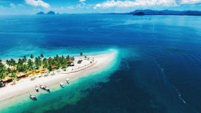 เกาะมุก หนึ่งในที่เที่ยวจังหวัดตรังยอดนิยม มหัศจรรย์ท้องทะเล