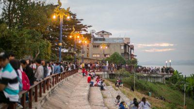 เชียงคาน เป็นที่ไม่ใหญ่มากนัก เหมาะกับการเดินทางในภาคอีสาน