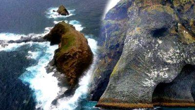 เกาะช้าง ประเทศ ไอซ์แลนด์ สถานที่ท่องเที่ยวศิลปะความงามจากธรรมชาติ