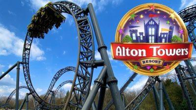 Alton Towers สวนสนุกเก่าแก่ศูนย์รวมความบันเทิงของประเทศอังกฤษ